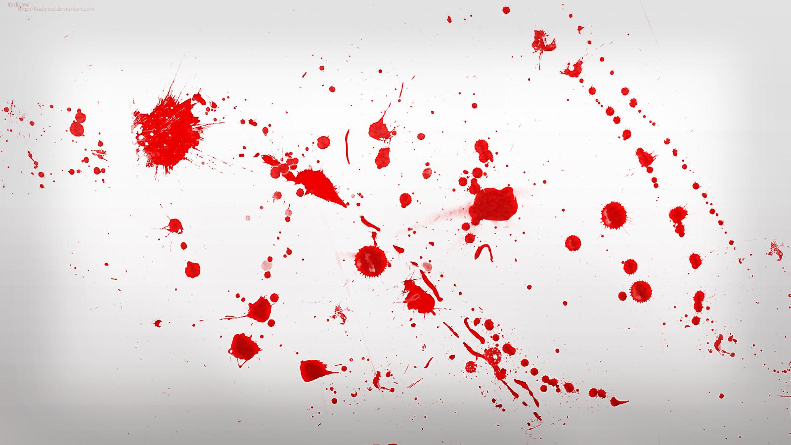 Wallpaper a blood wallpapers - Dexter Blood Spatter Wallpaper By Ffadicted Customization Wallpaper