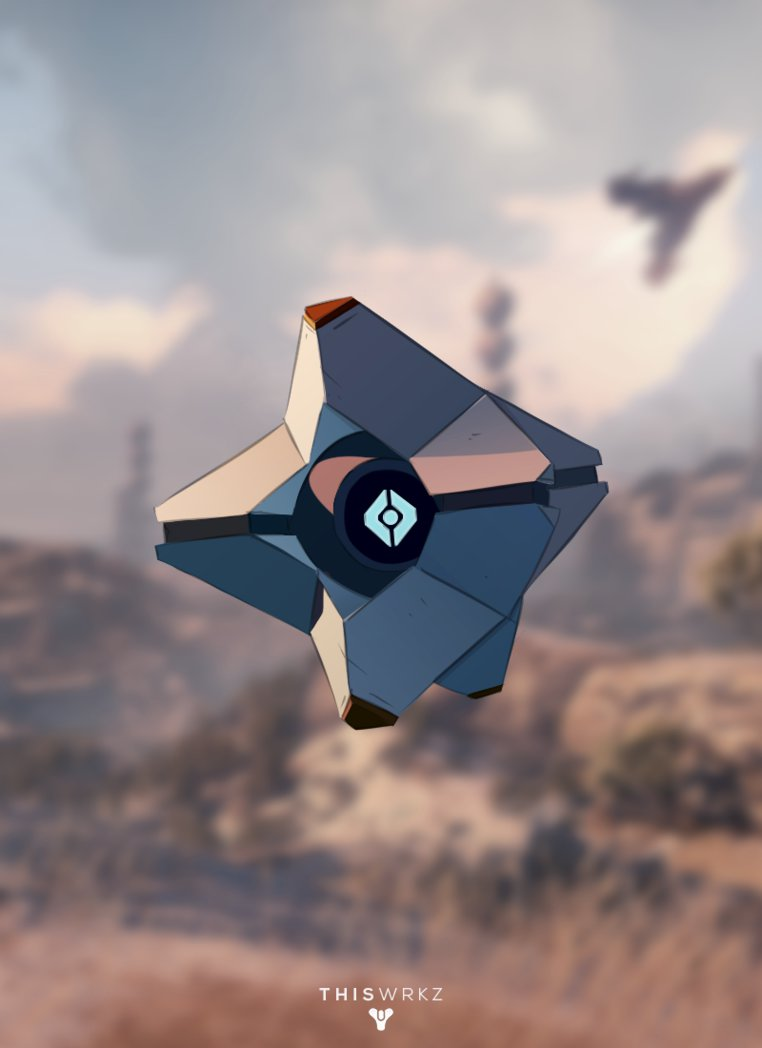 Destiny Ghost Wallpaper