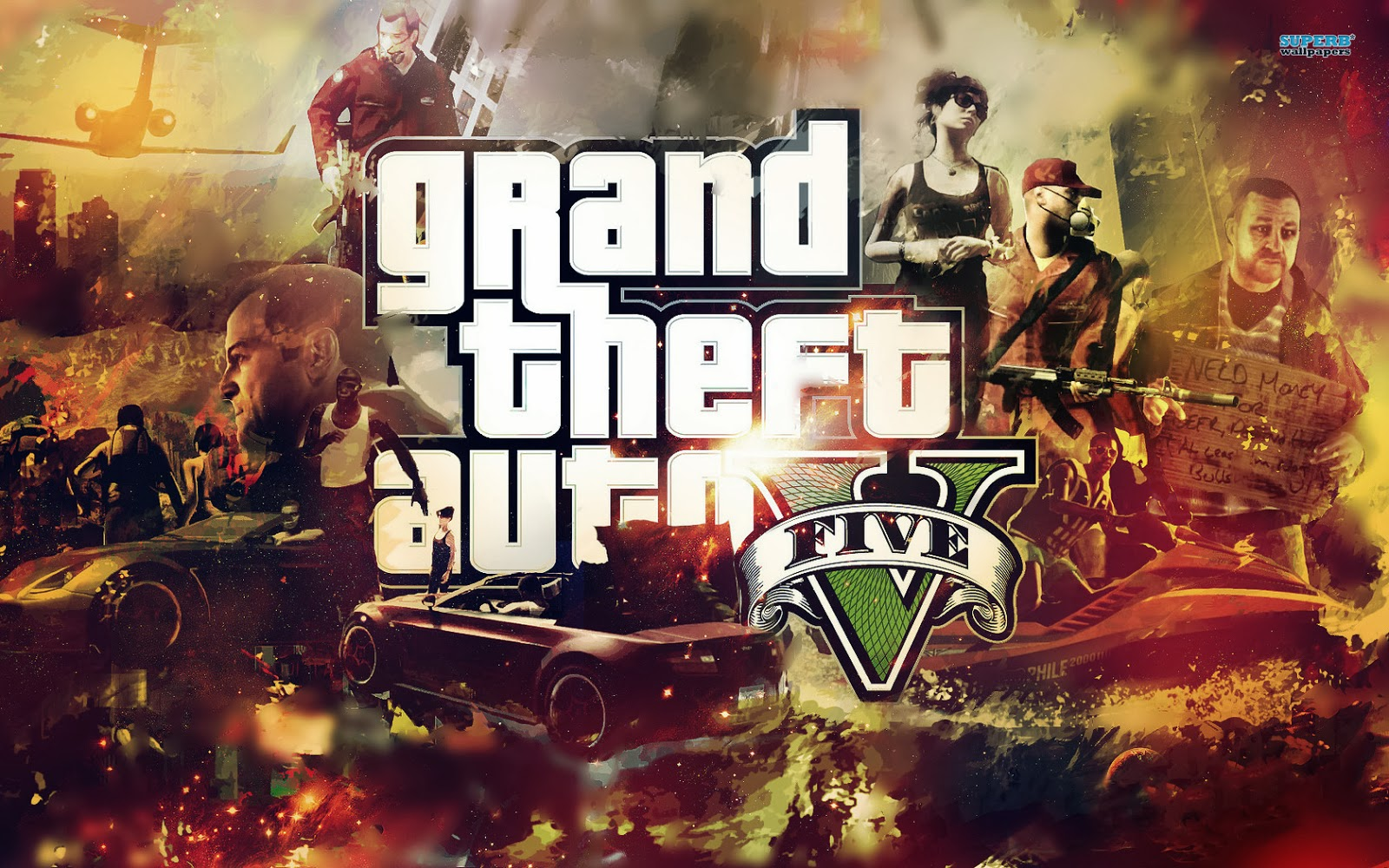 Grand Theft Auto V Wallpaper jpg 1600x1000