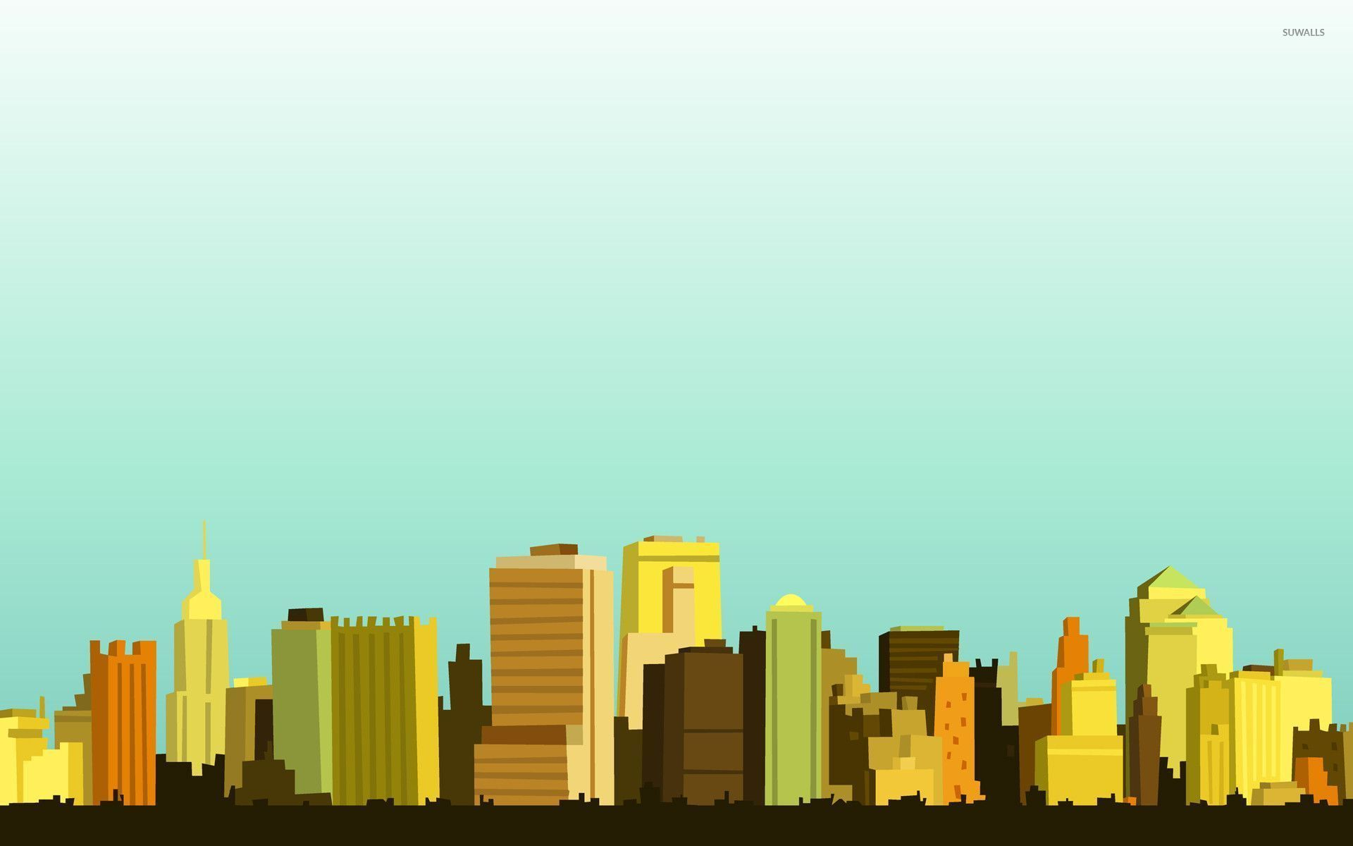 Free download City skyline wallpaper ...