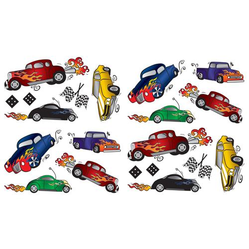 Race Car Safari Room