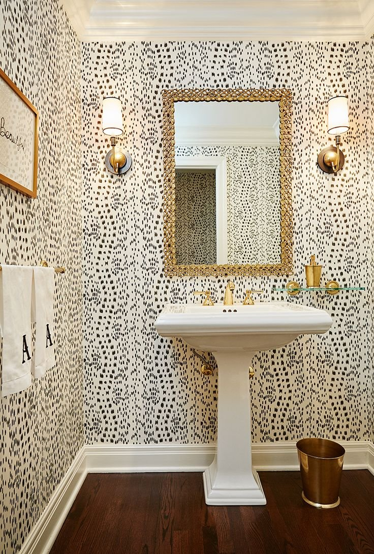 Walmart Wallpaper Stores Near Me Gold Removable Powder Rooms Bold 736x1089