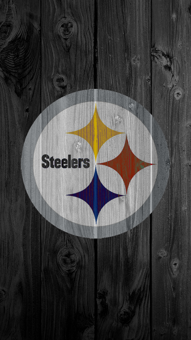 iPhone 5 Wallpaper Wood steelers 640x1136