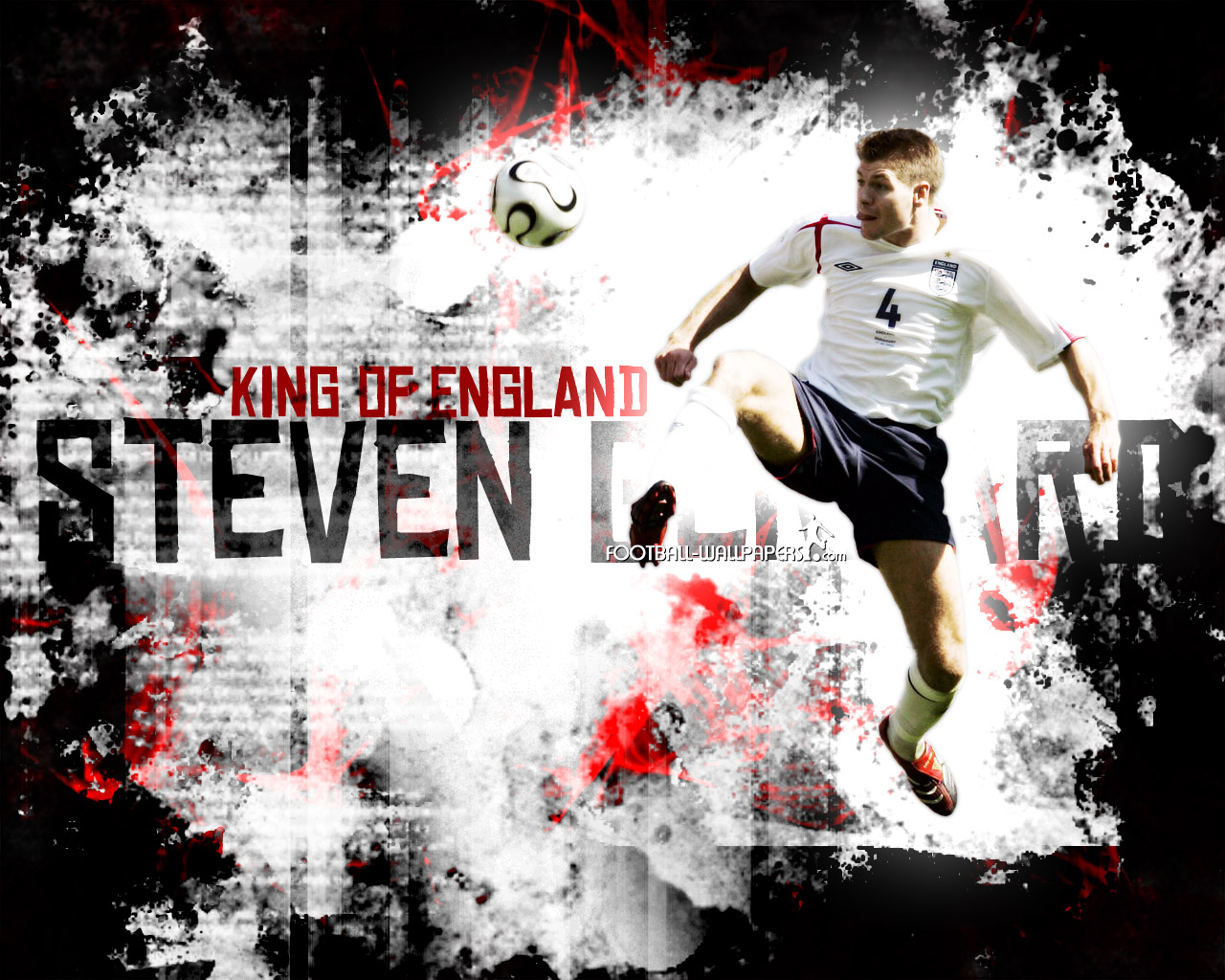 Free Download Top Football Players Steven Gerrard Wallpaper