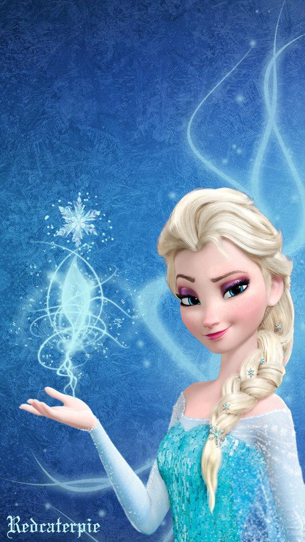 Frozen Elsa iPhone Wallpaper by Redcaterpie 600x1065