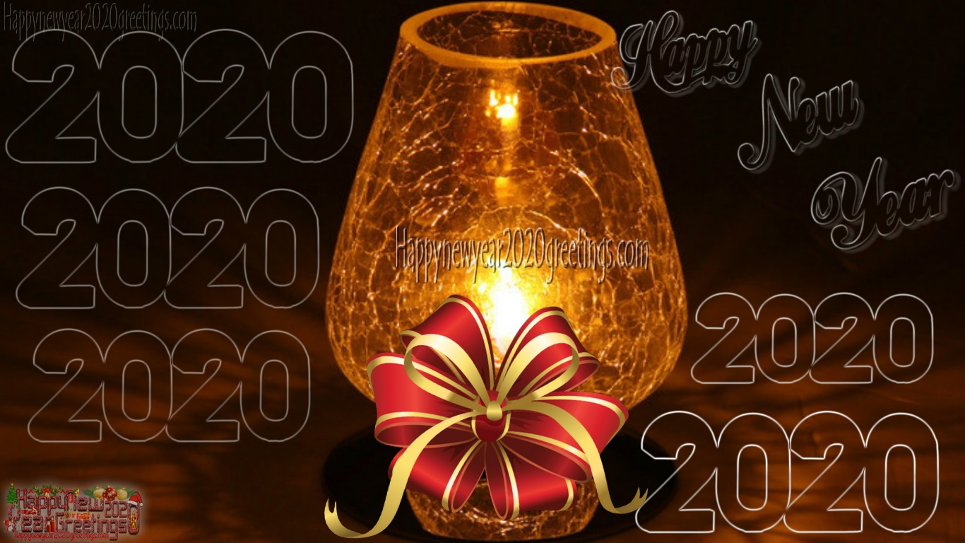 Happy New Year 2020 Colourful HD Wallpapers 4k Download   New 1366x768