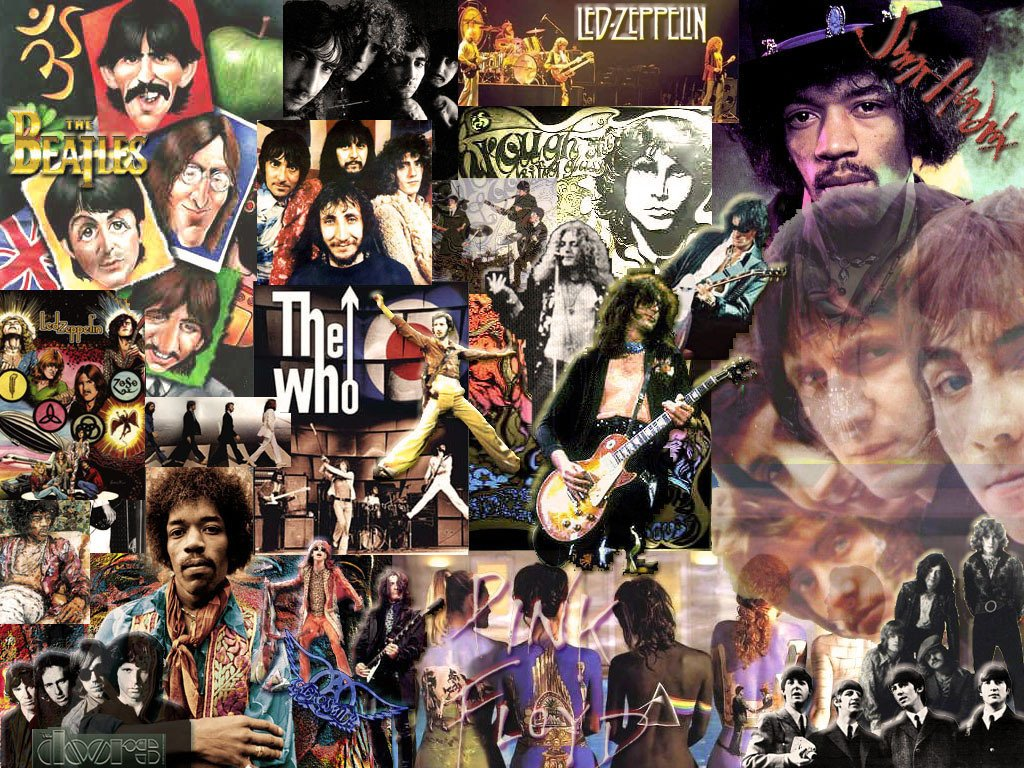 Classic Rock Collage   Classic Rock Wallpaper 5741268 1024x768