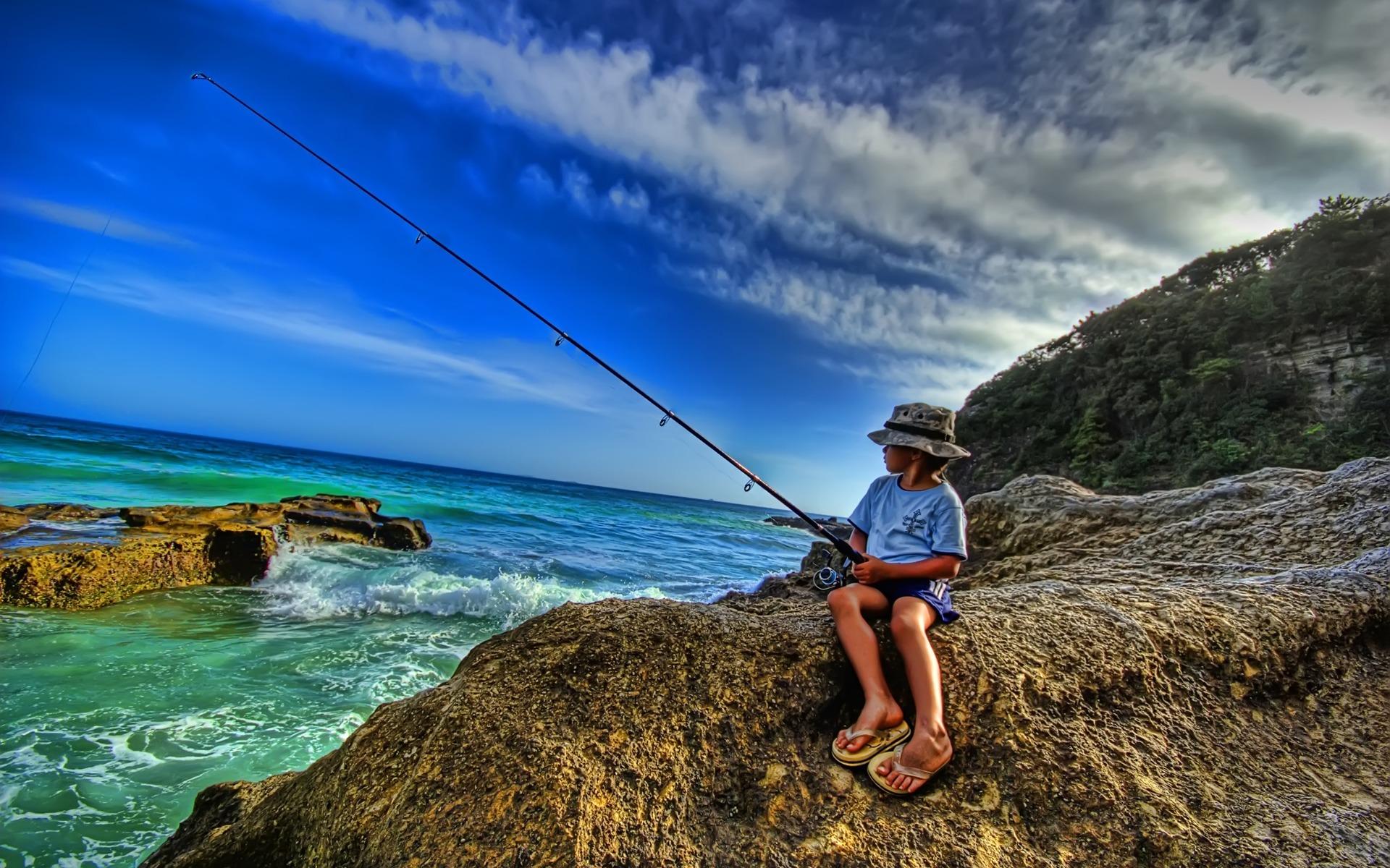50+ Sport Fishing Wallpapers on WallpaperSafari