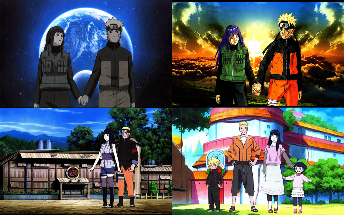 Naruto and Hinata Top Four Special Wallpapers by weissdrum on 1132x706