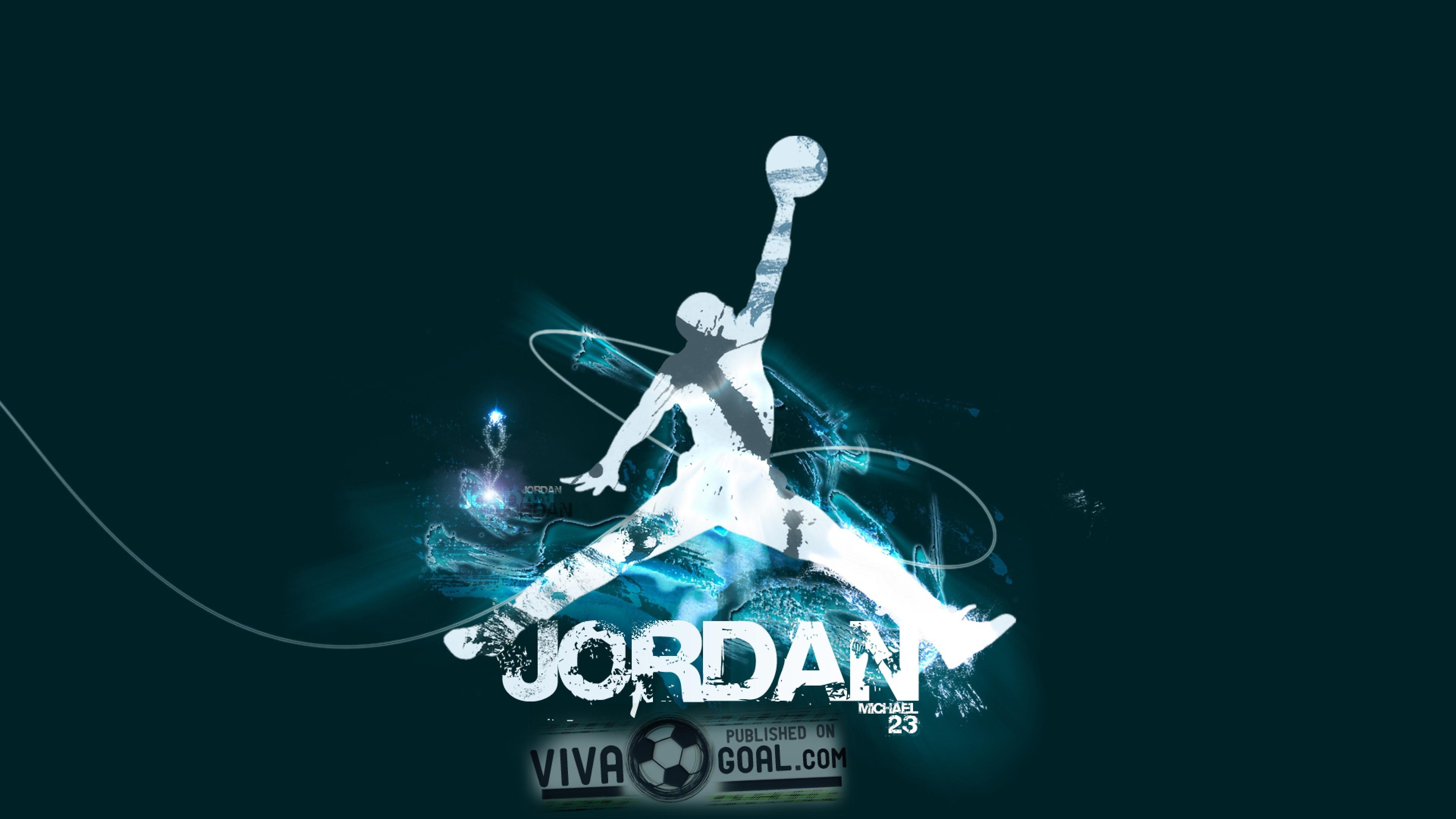 jordan Basketball Ball Sport Wallpaper Background 4K Ultra HD 3840x2160