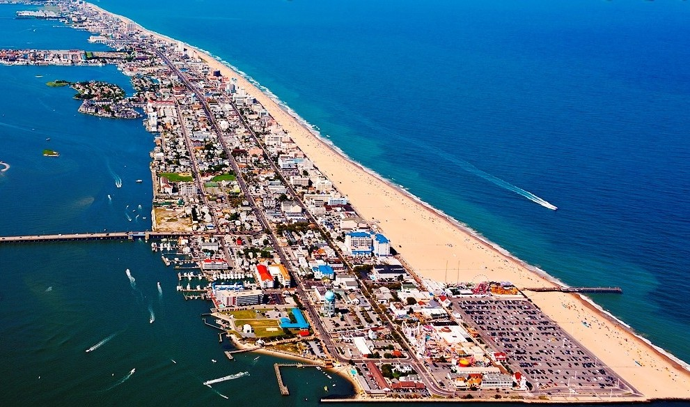 Ocean City Maryland Photograph by Steve Monell