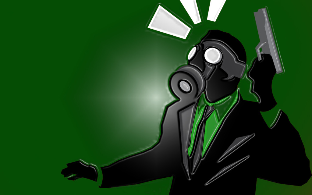 gas mask hd iphone wallpaper