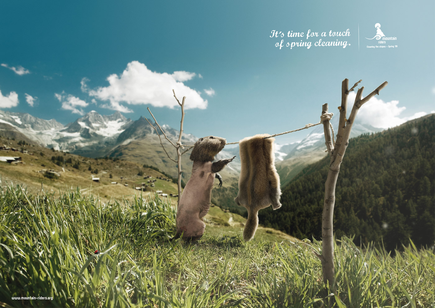 Very Funny And Creative Ads Using Animals Funny Pictures 1400x990