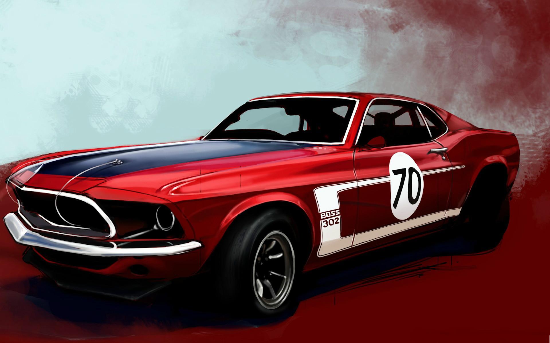 Classic Ford Mustang Wallpaper Wallpapersafari