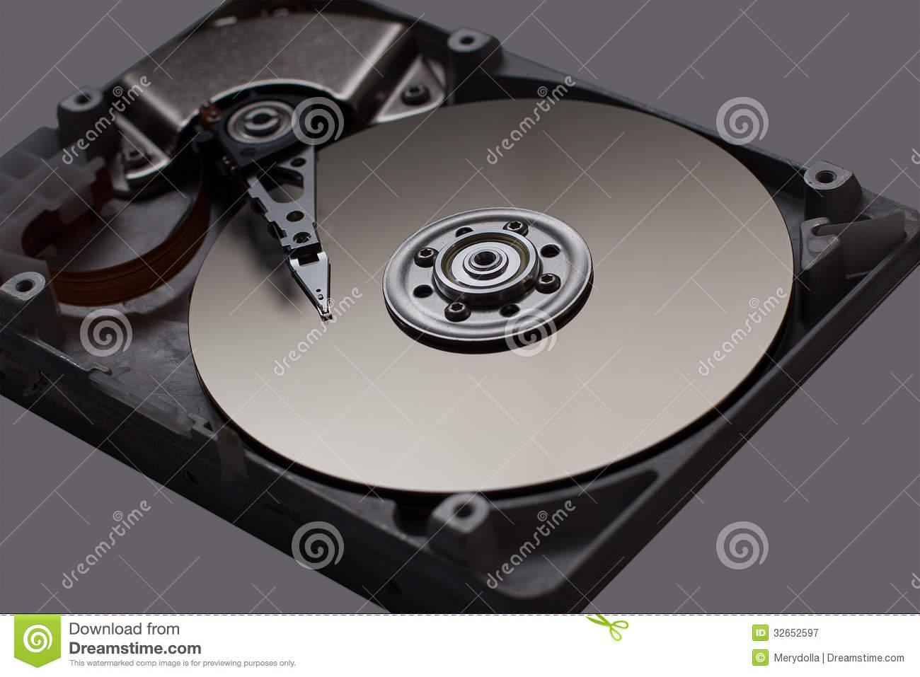 Hard Disk Drive Hard disk drive hdd on black 1300x957