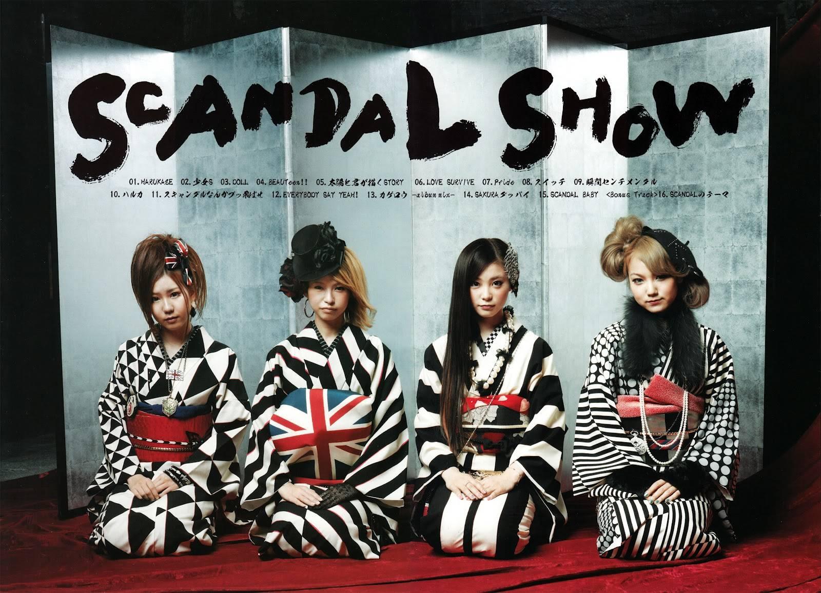 SCANDAL SHOW Wallpaper HD   Scandal Band Jpop Wallpaper 1600x1156
