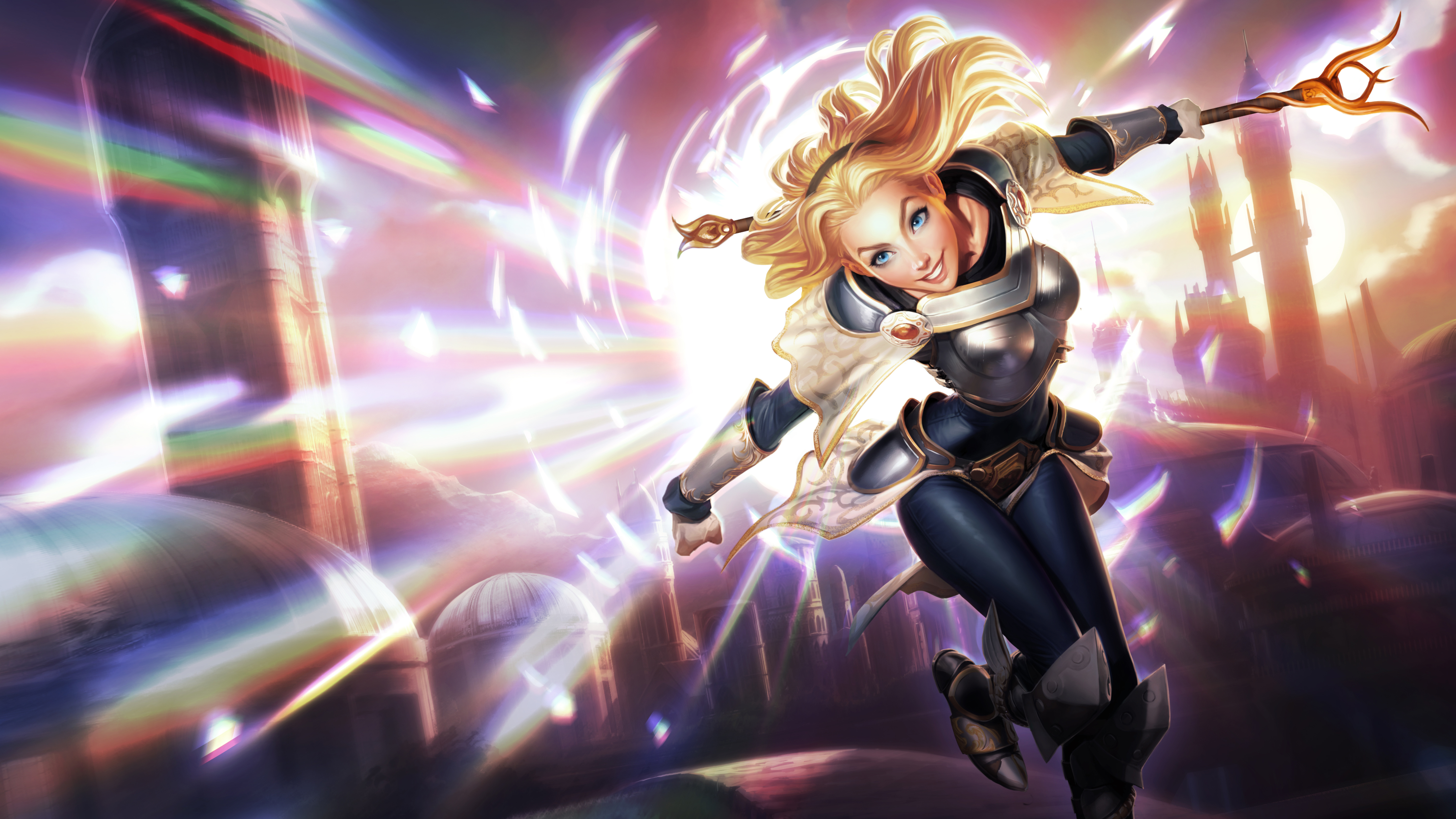 Classic Lux LoL Wallpapers 6000x3375