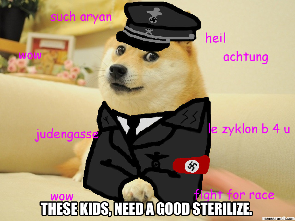 Generate a meme using doge 1024x768