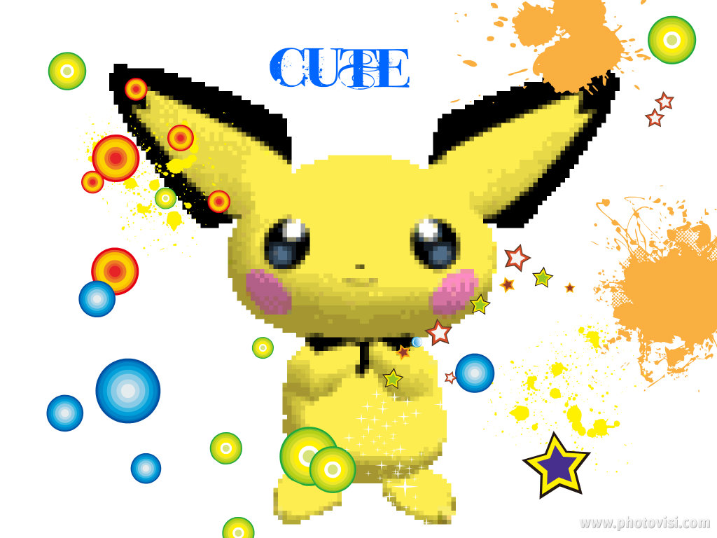 Pokmon images Pichu HD wallpaper and background photos 27081651 1024x768