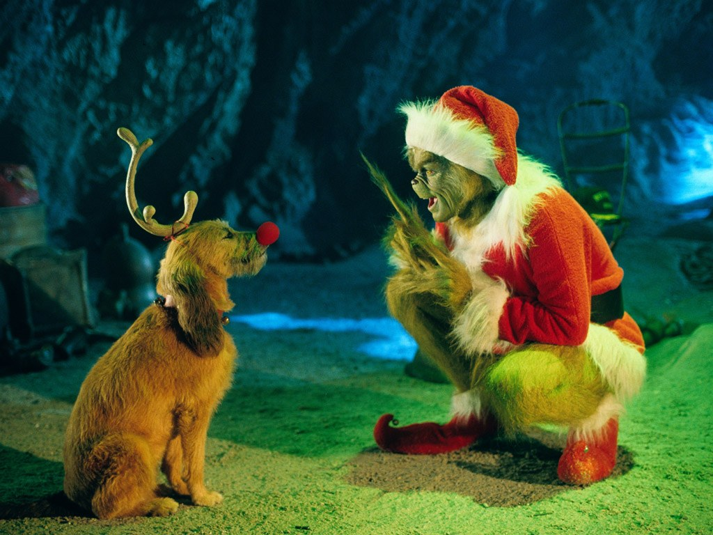 The Grinch   How The Grinch Stole Christmas Wallpaper 30805585 1024x768