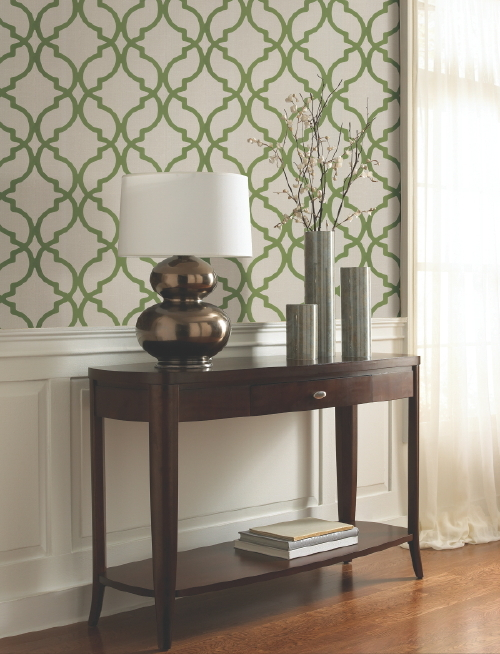 budget friendly wallpaper at Bouclair The Home and Garden Blog 500x654