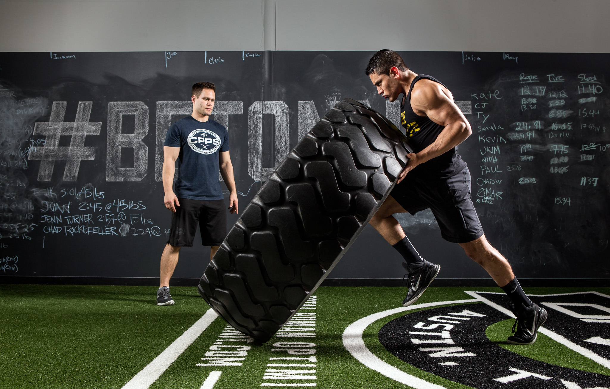 Crossfit Tires Muscle Force Athletes   Stock Photos Images 2048x1307