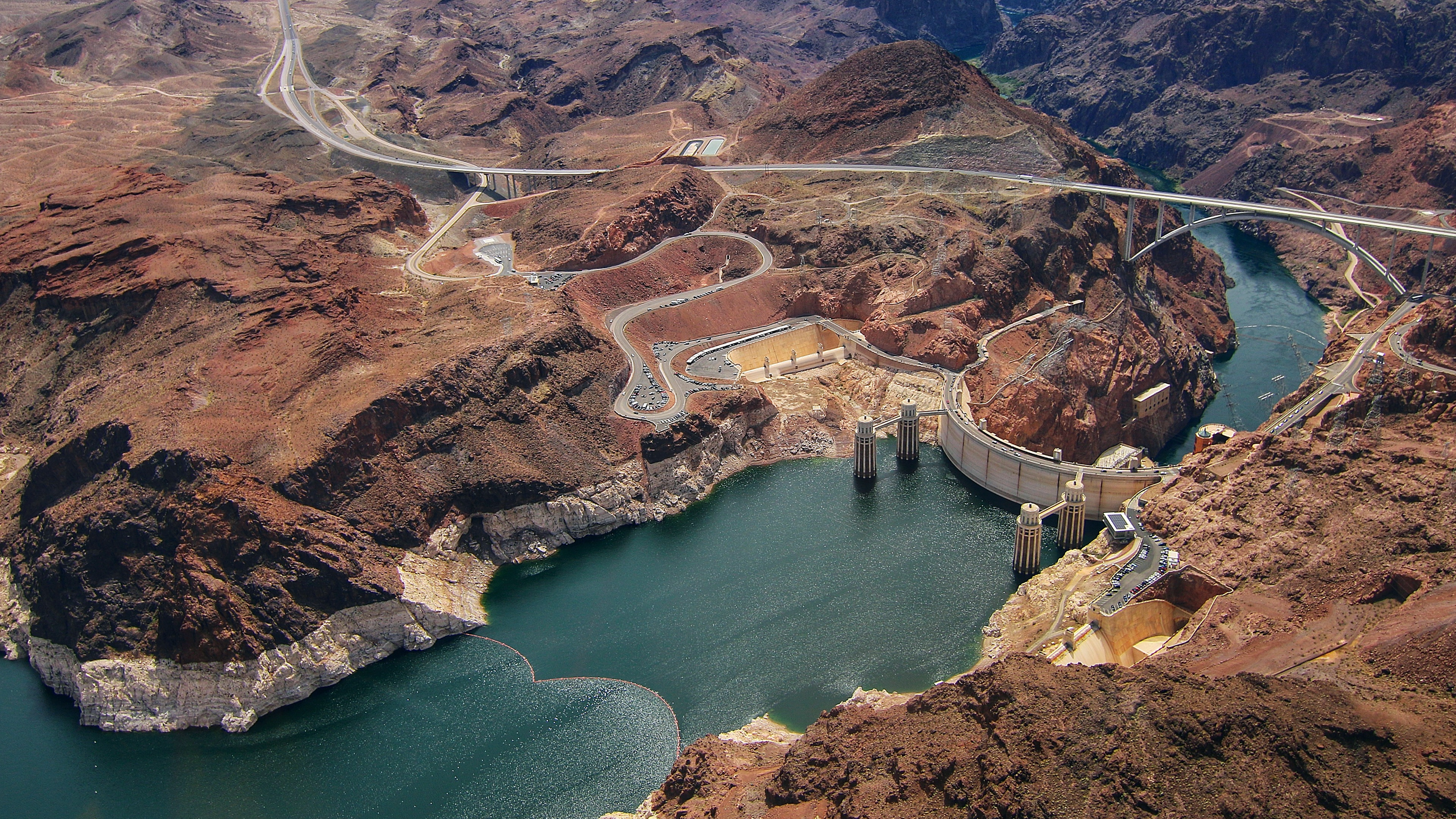 Hoover Dam 4K Ultra HD Desktop Wallpaper 3840x2160