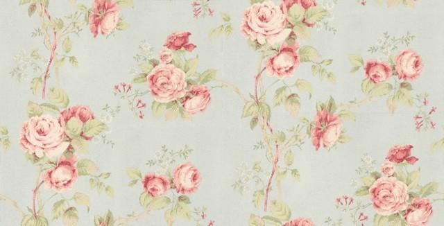 Fleurs et Toile   Wallpaper   by Wallpaperdirect 640x326