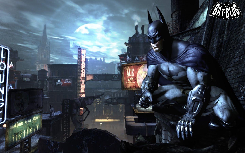 New BATMAN ARKHAM CITY WALLPAPERS Made From Video Game Screenshots 1440x900