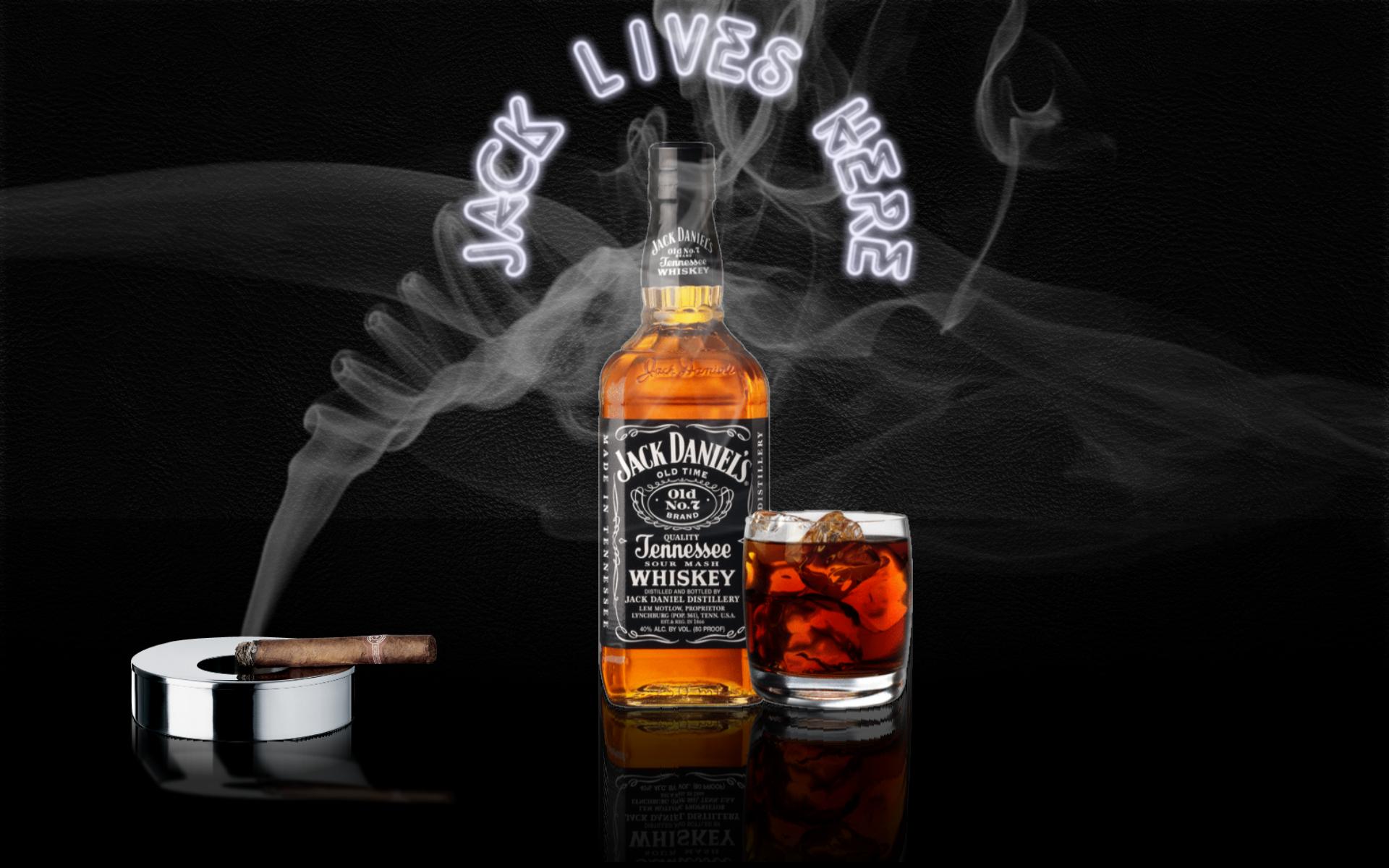 Jack Daniels And Cigarette HD Wallpaper Image For PC Desktop Wallsev 1920x1200
