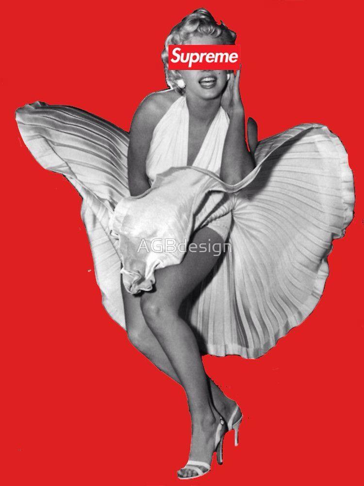Marilyn Monroe X Supreme by AGBdesign Supreme Supreme 750x1000