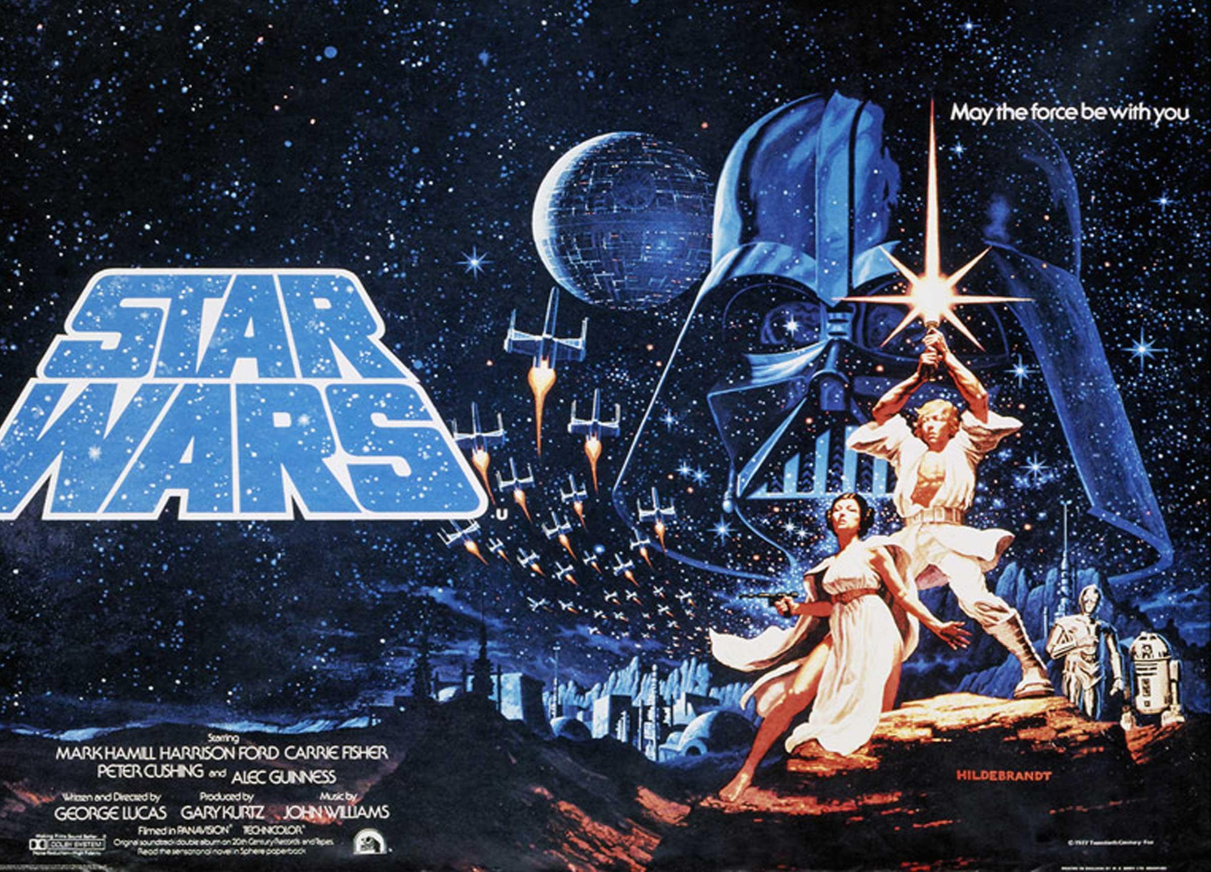looks a lot like Buck Rogers in unused 1977 Star Wars poster Blastr 2400x1729