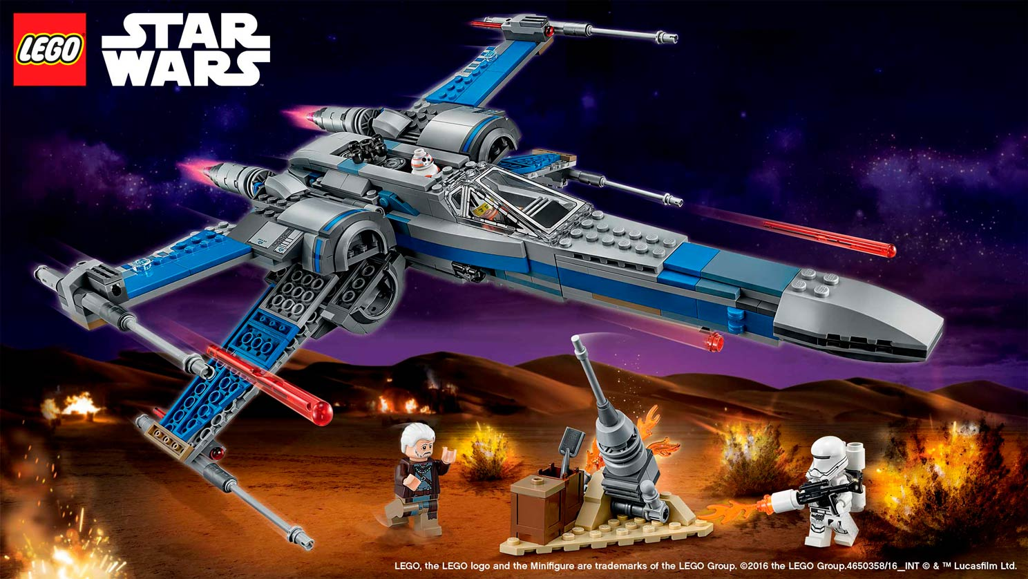 Free Download 75149 Resistance X Wing Fighter Star Wars