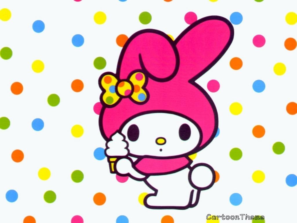 My Melody Wallpaper 5997908 1024x768