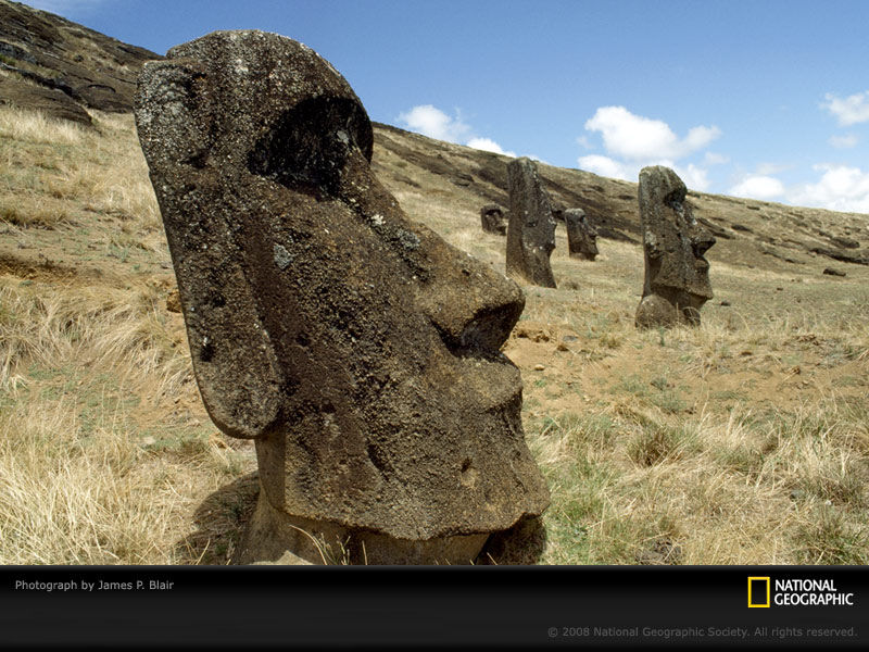 Easter Island Wallpaper   Fond dcran 800x600