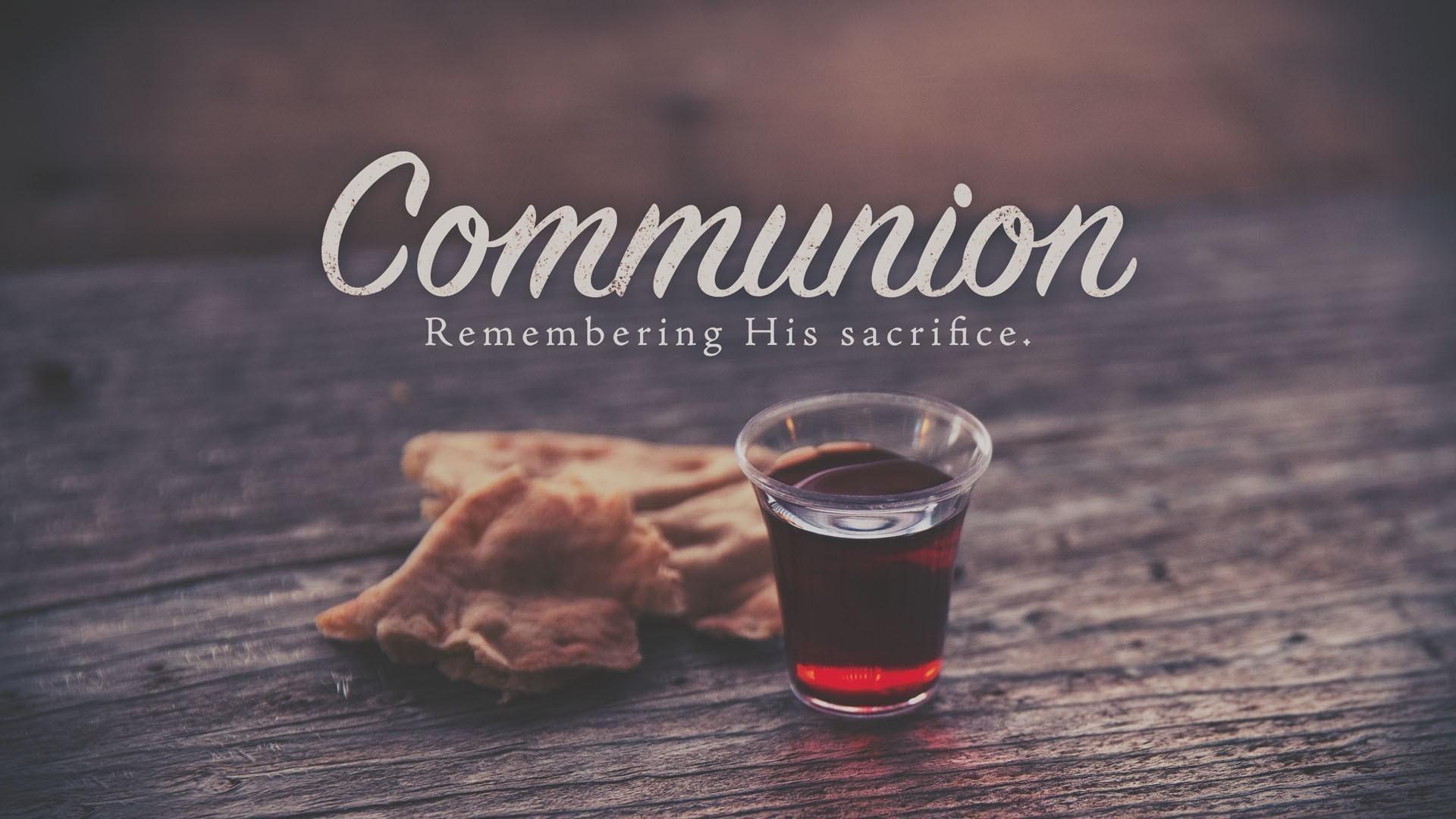 Communion Wallpaper