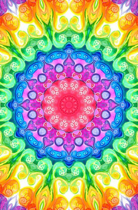 MANDALA Iphone Wallpaper Mandala S Mandala Color Colorful Mandala 459x700