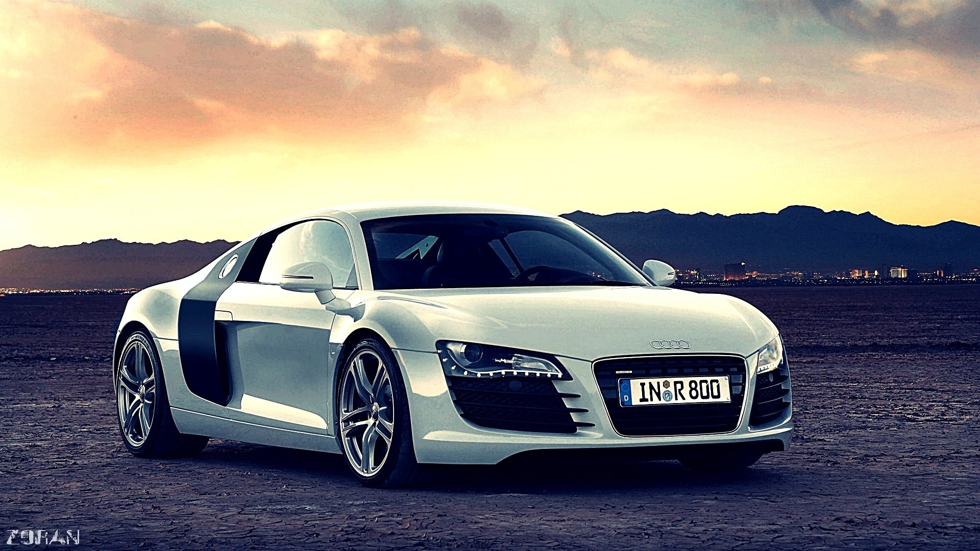 Audi R8 Wallpaper HD Desktop 1920x1080