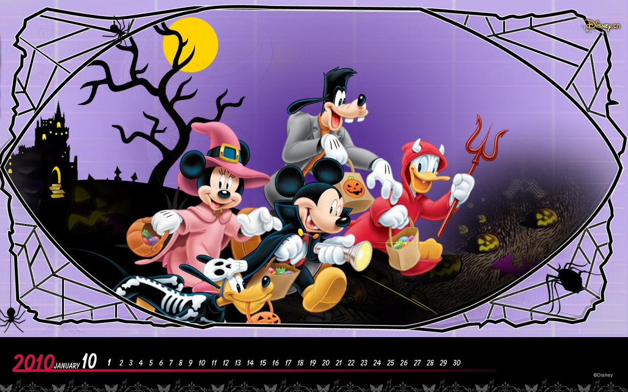 Disney Halloween   Sites Of Great Wallpapers Wallpaper 1280x800