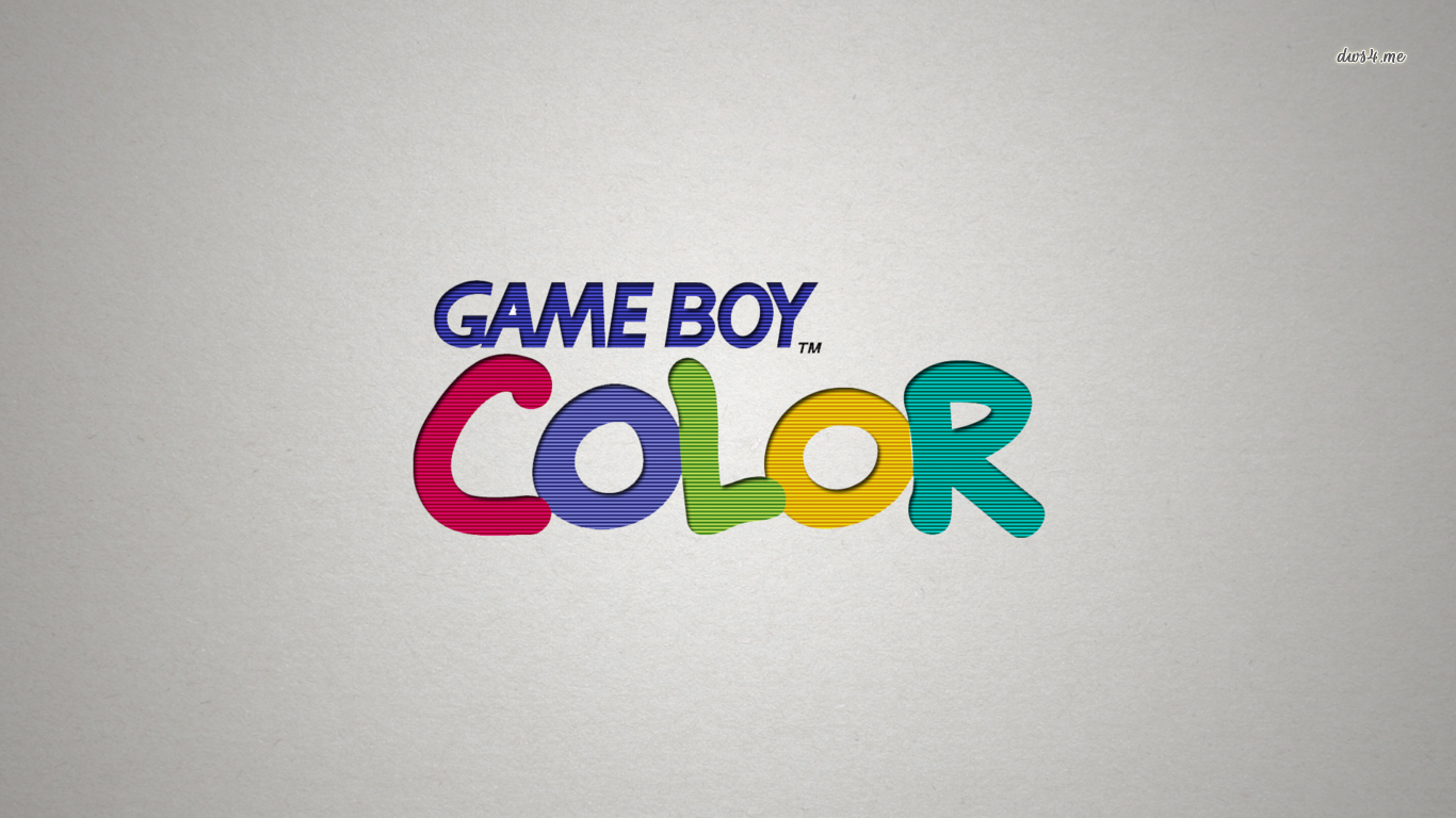 Game Boy Color wallpaper   Game wallpapers   23288 1366x768
