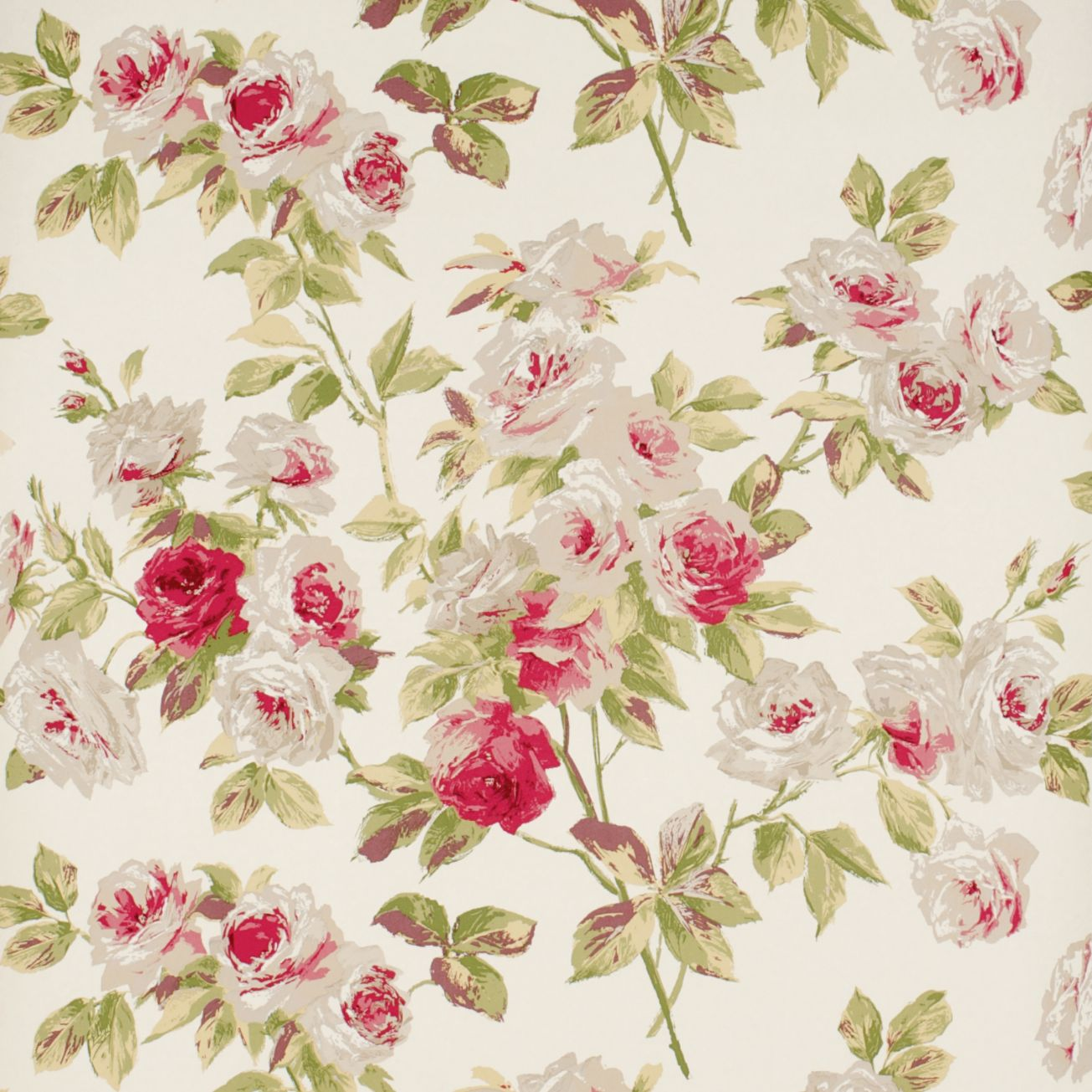 46 Vintage Roses Wallpaper On Wallpapersafari