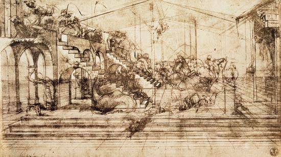 Da Vinci Invention Wallpaper Image leonardo da vinci 550x309