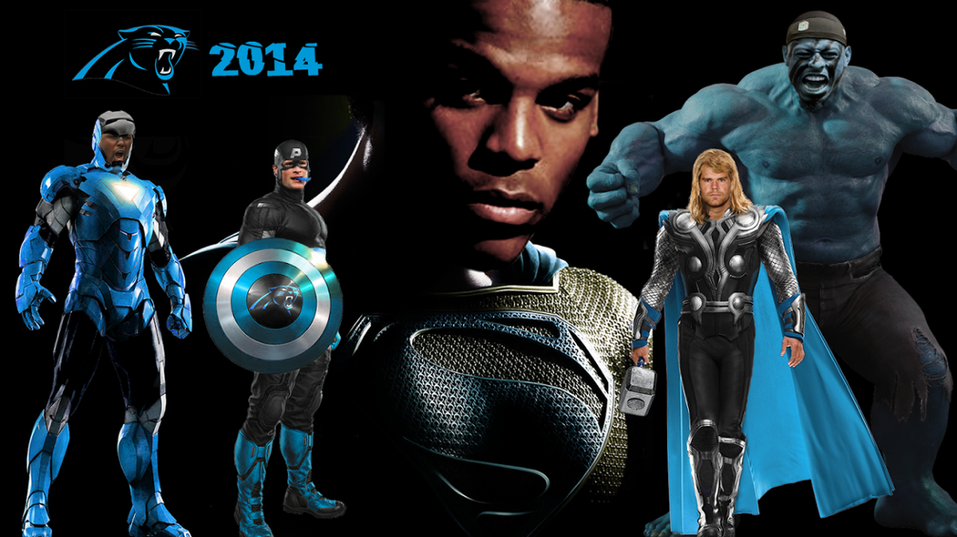 2014 Panthers   Superhero Style   Cat Scratch Reader 1050x590