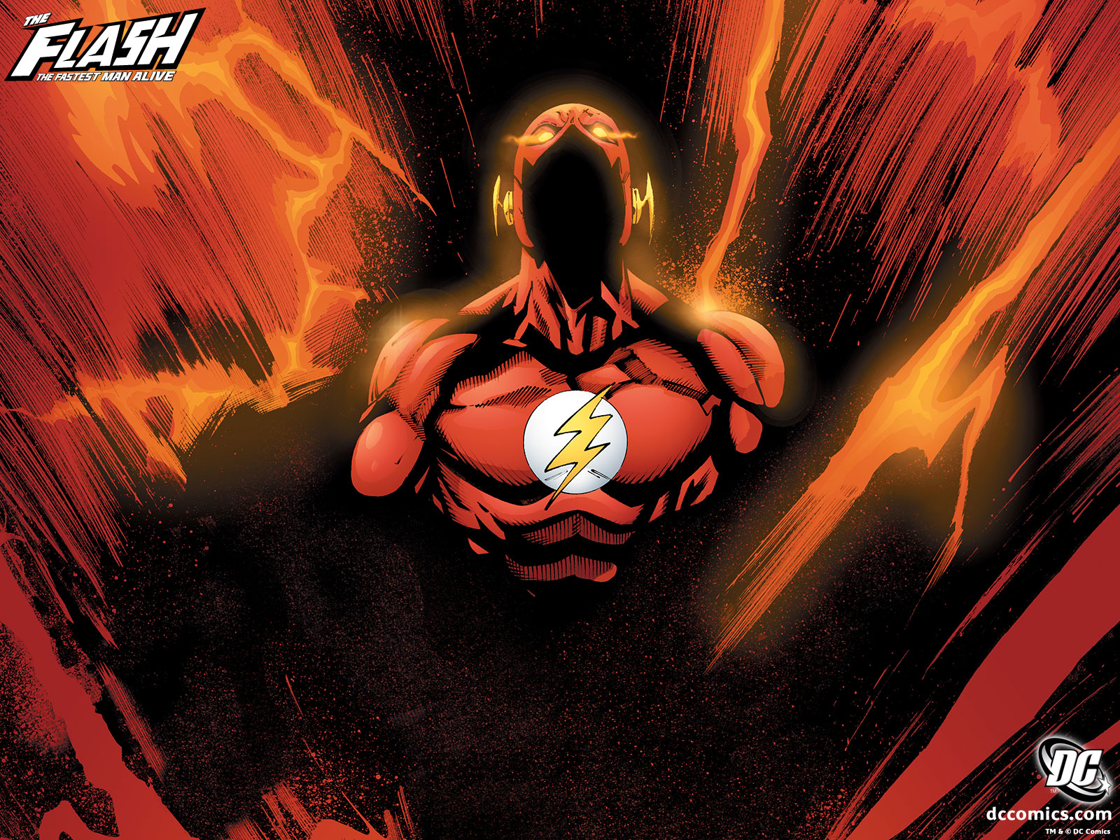 The Flash desktop wallpaper 1600x1200