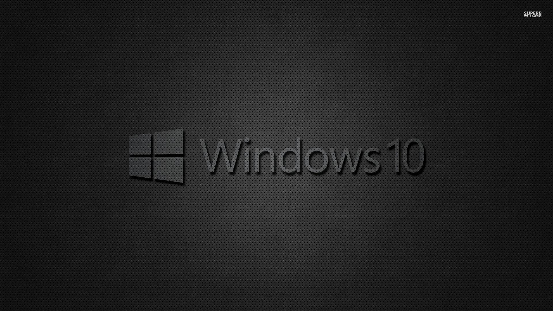 Black Windows Wallpaper 1080p: Dark Windows 10 Wallpapers