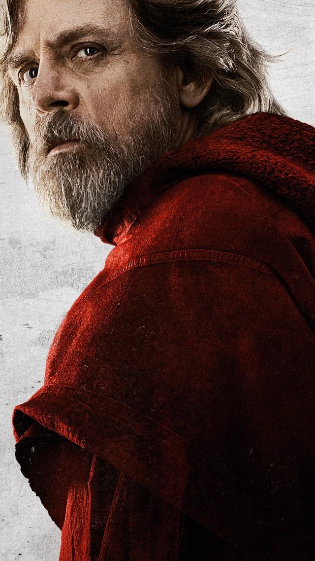 Wallpaper Star Wars The Last Jedi Mark Hamill 8k Movies 15103 640x1138