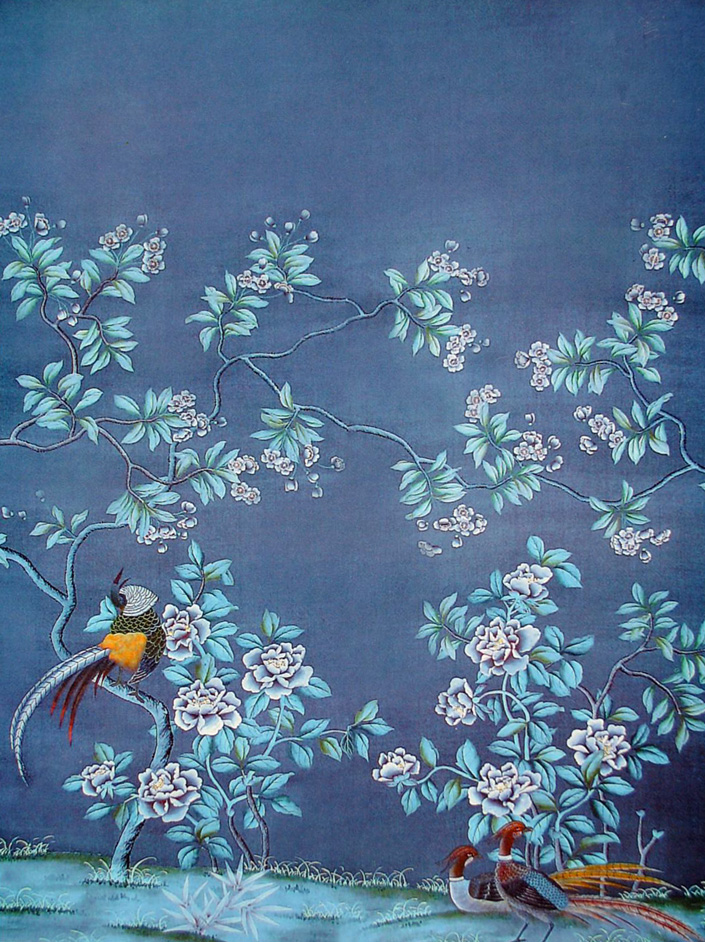 How Do They Do That Chinoiserie Wallpaper This Handcrafted Life 705x942