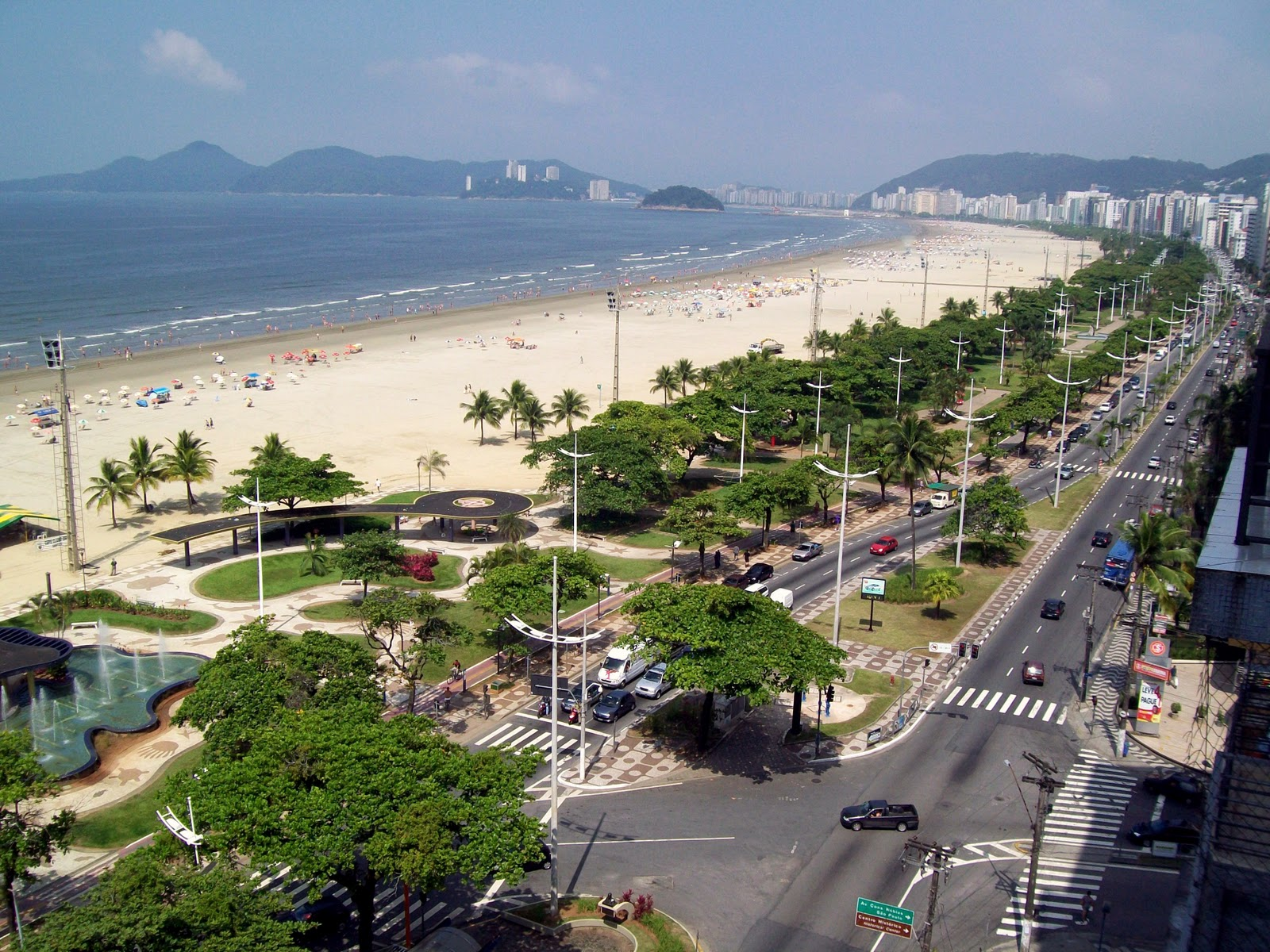 Santos the longest beach garden in the world   Places to Visit Brazil 1600x1200