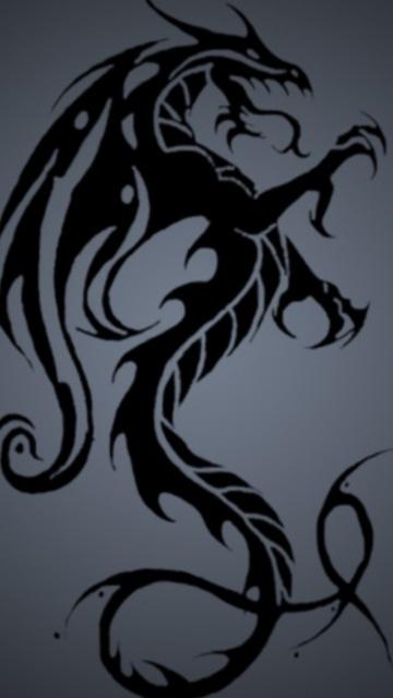 Dragon Wallpaper for Nokia 5800 Xpress Music   Hellaphone 360x640