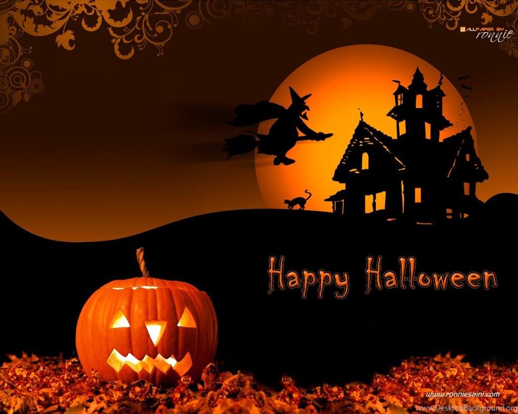 Halloween Wallpaper For Desktop Background Wallpapers 1024x819